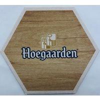 Подставка под пиво Hoegaarden /Бельгия/-2
