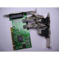 Мультикарта Контроллер LPT и 2 COM F-PIO9835-2S1P-01-BC01