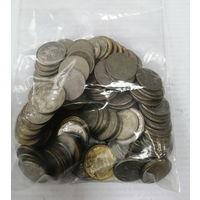 Россия. Кучка монет 1,2,5,10 руб. на сумму 488 рублей