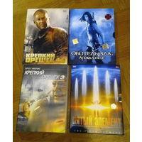 4 культовых фильма. Лицензионные. Коллекционные издания с доп. материалами.