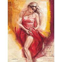 Пазл с изображением красивой танцующей испанки 1000 элементов Равенсбургер