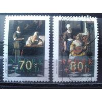 Нидерланды 1996 Живопись Вермеера