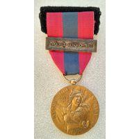 Франция.Медаль Национальной обороны.Бронзовая.Воздушно-десантные войска.