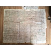 Карта Гомель Брянск 1942 год