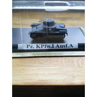 Продам модель танка  Pz. KPfw. I Ausf.A масштаб 1/72