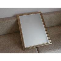 Зеркало деревянная рамка винтаж Германия 58 х 78 см.