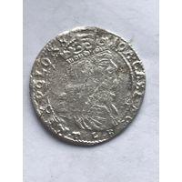 6 грошей 1666г.