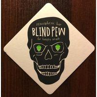 Подставка под пиво Blind Pew /Россия/ No 2