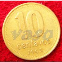 7192:  10 сентаво 1994 Аргентина