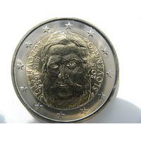 Словакия 2 евро 2015 г. 200 лет со дня рождения Людовита Штура. (юбилейная) UNC!