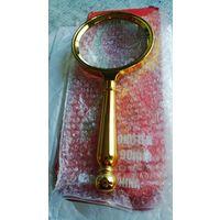Лупа с ручкой, увеличительное стекло. 60 мм. распродажа.