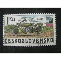 Чехословакия 1975 Чехословацкие мотоциклы