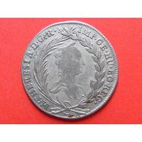 20 крейцеров 1754 года