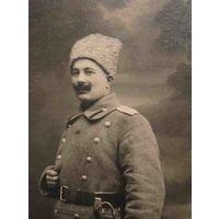 Старинная фотография офицера. Минск