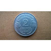 Франция 2 франка, 1949