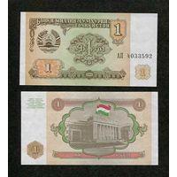 Таджикистан 1 рубль 1994г. UNC распродажа
