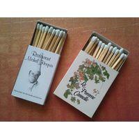 Два коробка оригинальных, коллекционных спичек из Бельгии. Красивые. Распродажа коллекции.