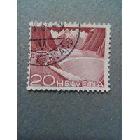 Швейцария. Стандарт. 1949г. гашеная
