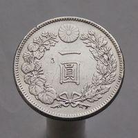 Япония 1 йена 1904 СЕРЕБРО
