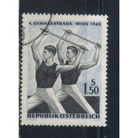 Австрия Респ 1965 Фестиваль гимнастических видов спорта Вена #1190