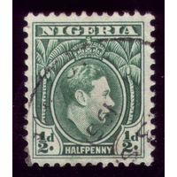 1 марка 1938 год Нигерия Жора VI 46