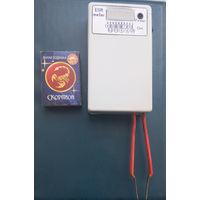 Прибор ESR метр. Измерение от 0 до 40 Ом. Индикатор светодиодная линейка 10 разрядов.
