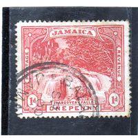 Ямайка. Mi:JM 31.Водопад Лландауорд . Серия: Создание Ямайки в качестве британской территории. 1900.
