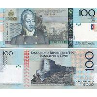 Гаити. 100 гурдов 2004(модификация 2016). [UNC]
