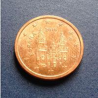 Испания 2 евроцента 2016