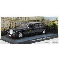 .Altaya 007,1/43 ,Collection.Daimler Saloon .James Bond .Casino Royale black scale