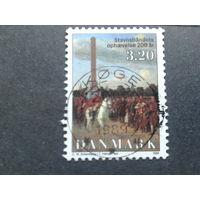 Дания 1988 король Христиан 7 в живописи