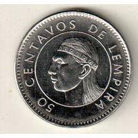 Гондурас 50 сентаво 2005