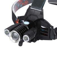 Мощный налобный фонарь, велофонарь W602-T6! Новый!