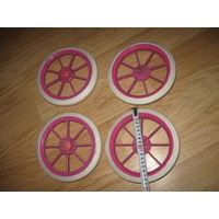 Колеса коляски для кукол