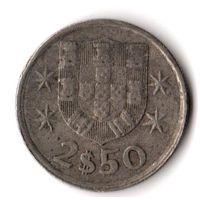 Португалия 2,5 эскудо 1978