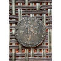 Великобритания Бристоль 1/2 пенни 1795 г.