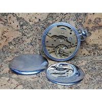 Часы карманные ЗИМ ранние,механизм позолота,редкие.Старт с рубля.