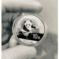 Монета ПАНДА Китая 2014, Серебро, 1 oz