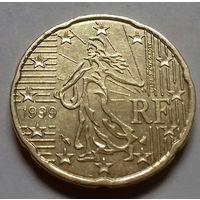 20 евроцентов, Франция 1999 г.