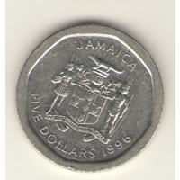 5 долларов 1996 г.