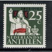 Нидерландские Антилы /1963/ 150-летие со Дня Основания Королевства / Принц Вильгельм Оранский