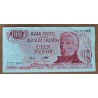 100 песо 1976-78 - Аргентина - UNC