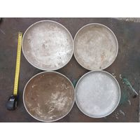 Чаши, тарелки от весов СССР алюминий. Цена за 1 тарелку.