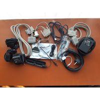 Сетевые кабеля, переходники, блоки питания.
