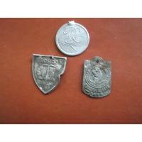 Значки Польша Три одним лотом до Военные