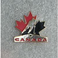 Официальный значок федерация хоккея Канады