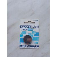 Элемент питания Robiton Lithium Profi CR2450