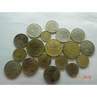 15 копеек 1942 г., 5 копеек 1937 г. и ещё 16 монет СССР до 1961 г. ( всё одним лотом )+ бонус к лоту ( всё что на фото ) распродажа с 1 - го рубля без минимальной цены ! Только на 3 дня !!!
