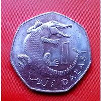 88-14 Гамбия, 1 даласи 1987 г.