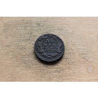 Деньга 1750 года 2